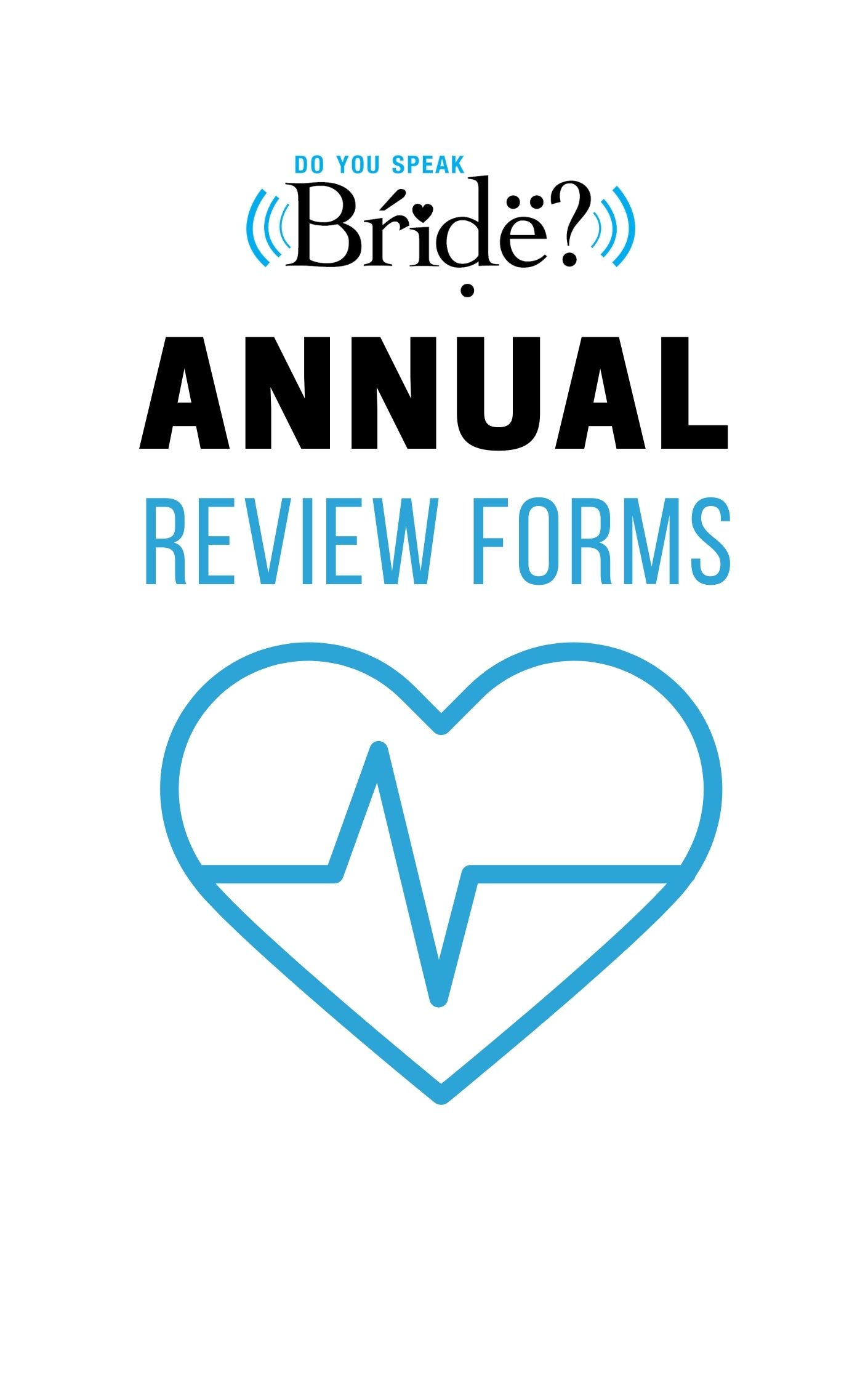 annual review form